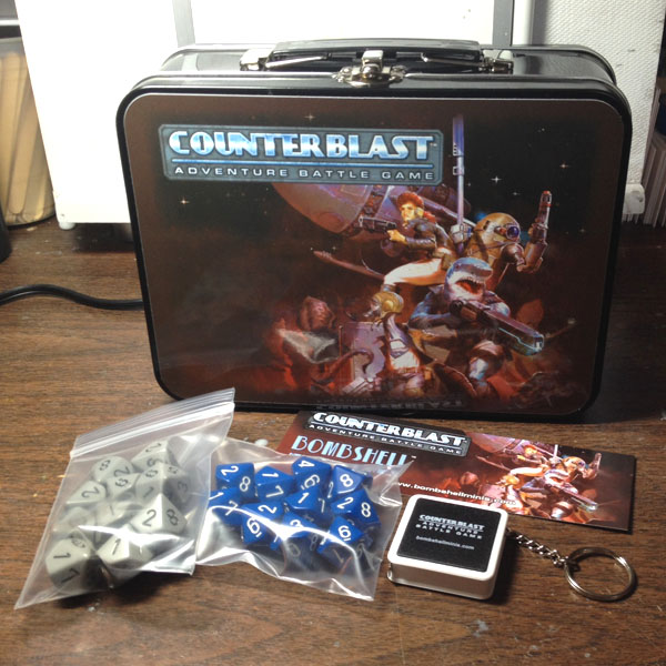 Counterblast Production Update