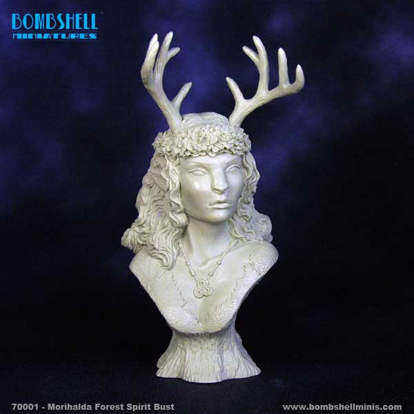 Morihalda the Forest Spirit Bust
