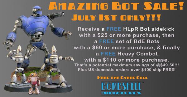 FREE Robots July 1st!