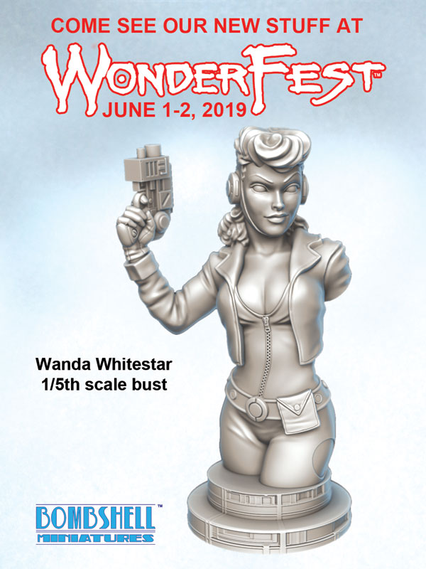 New Bust for WonderFest